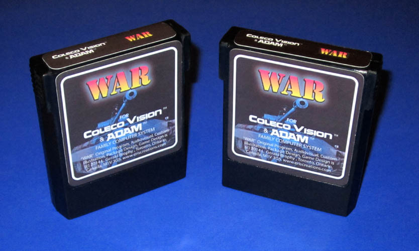 Colecovision WAR video game – ERIS CREATIONS