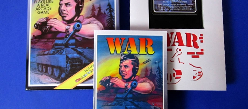 Colecovision gets a new Homebrew title – WAR – Tanks & Biplanes battle for your classic game system