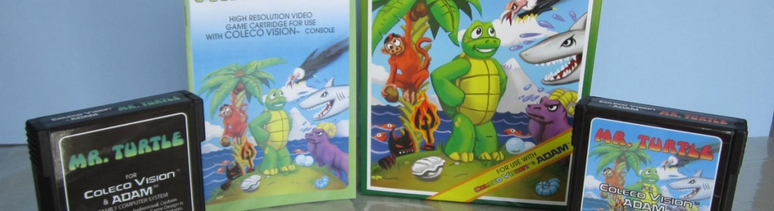 MR TURTLE for Colecovision is now for sale! Formerly Vapourware