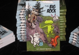 The Big Rock – A new 128page Comic Strip Book from Leo Brophy