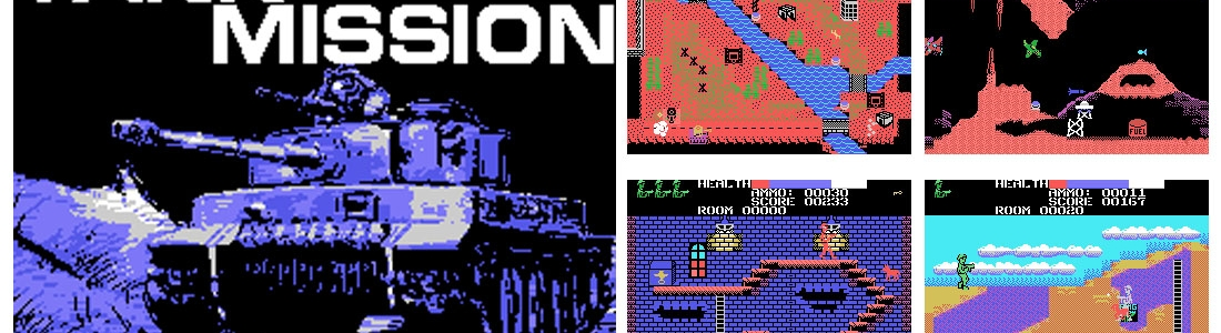 Colecovision TANK MISSION